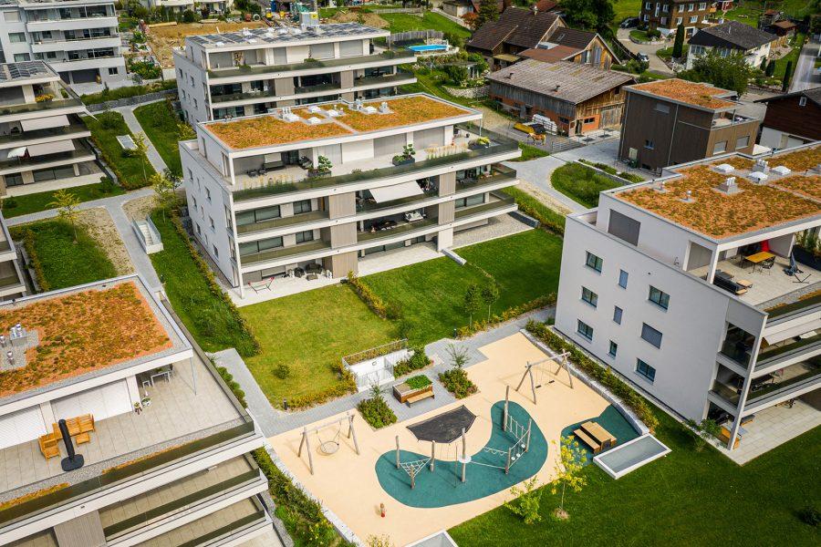 AmstutzGartenbau, Grossbaustelle, Projekt, Gartenbau