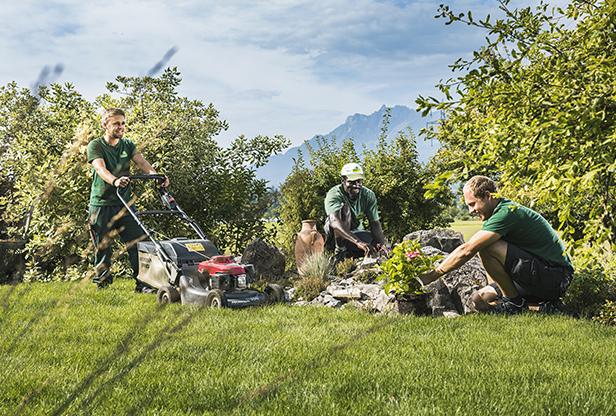 Amstutz Gartenbau AG, Teamfoto