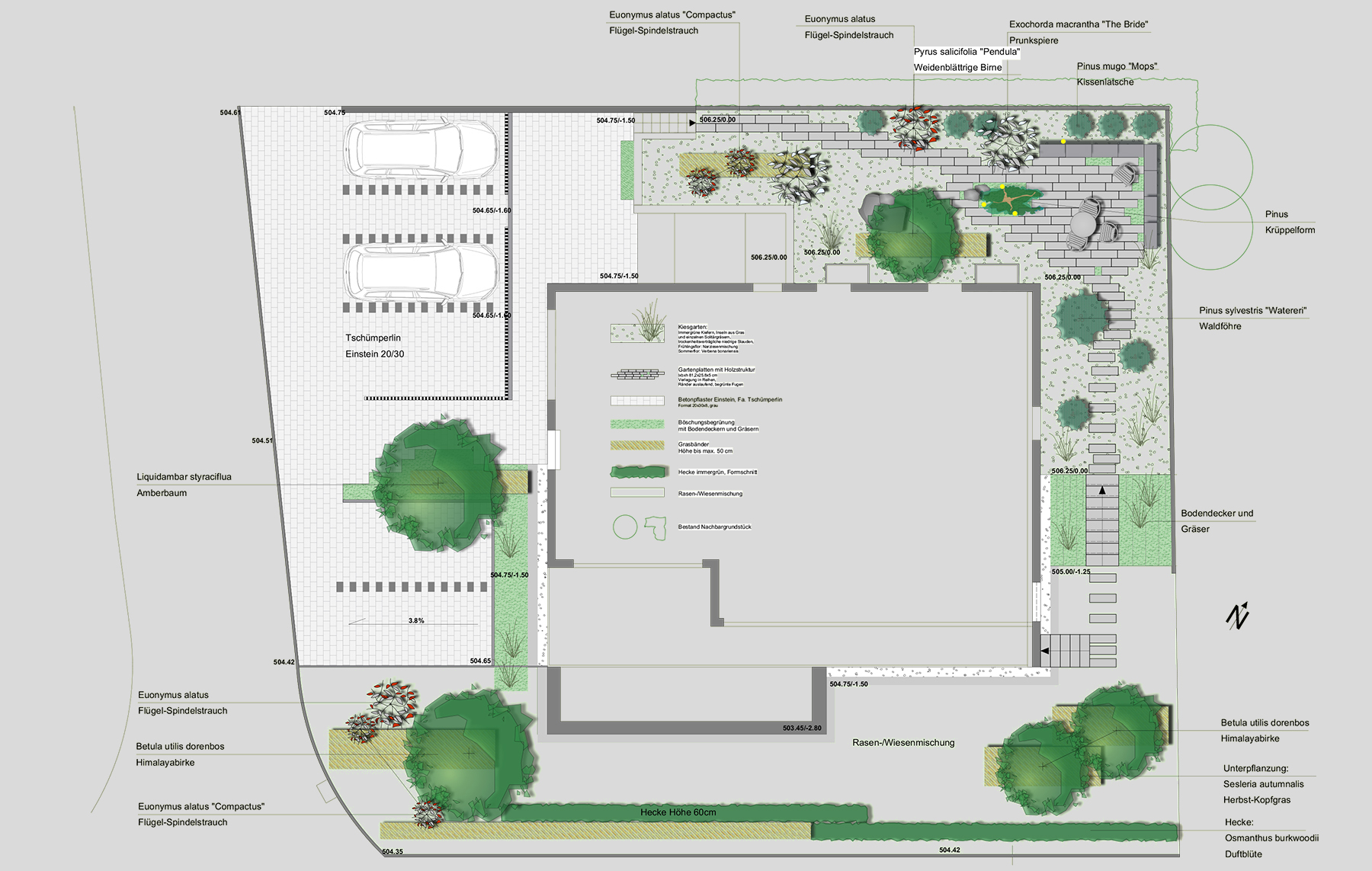 Amstutz Gartenbau, Gartenplanung, Neuanlagen