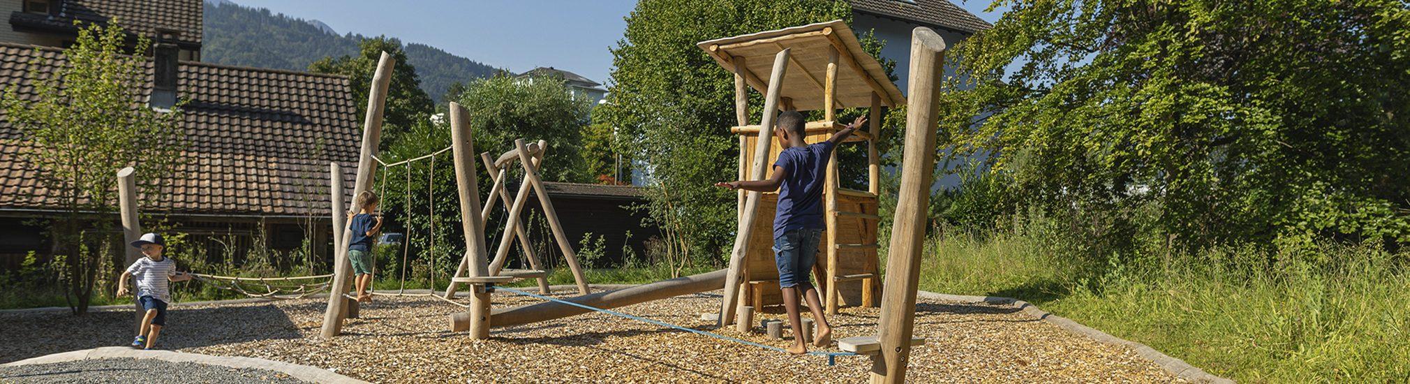 Amstutz Gartenbau AG, Projekte, Spielplaetze