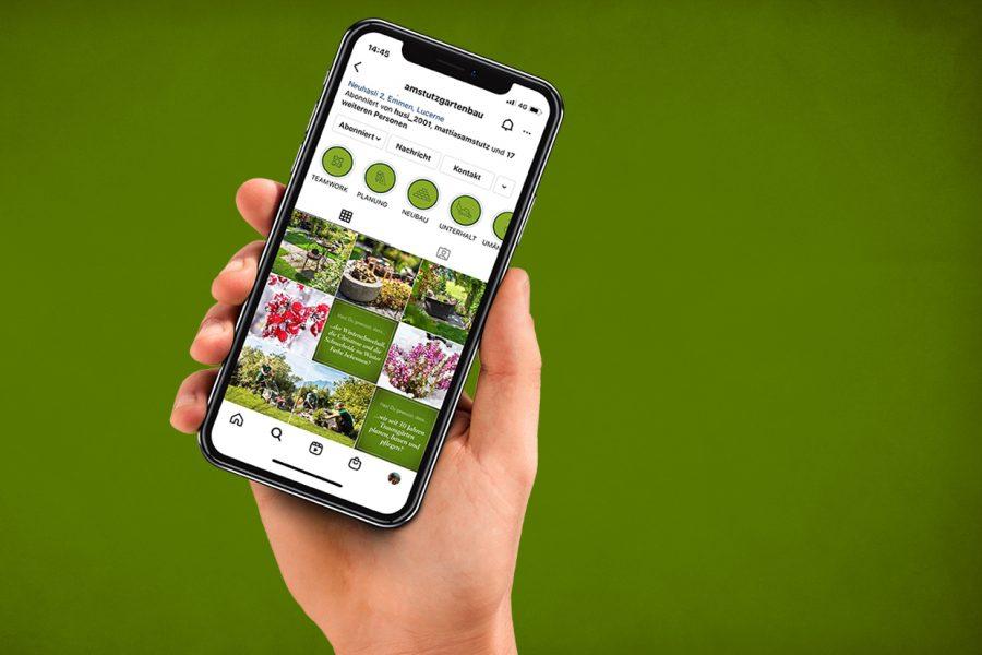 Amstutz-Gartenbau-AG-Social Media